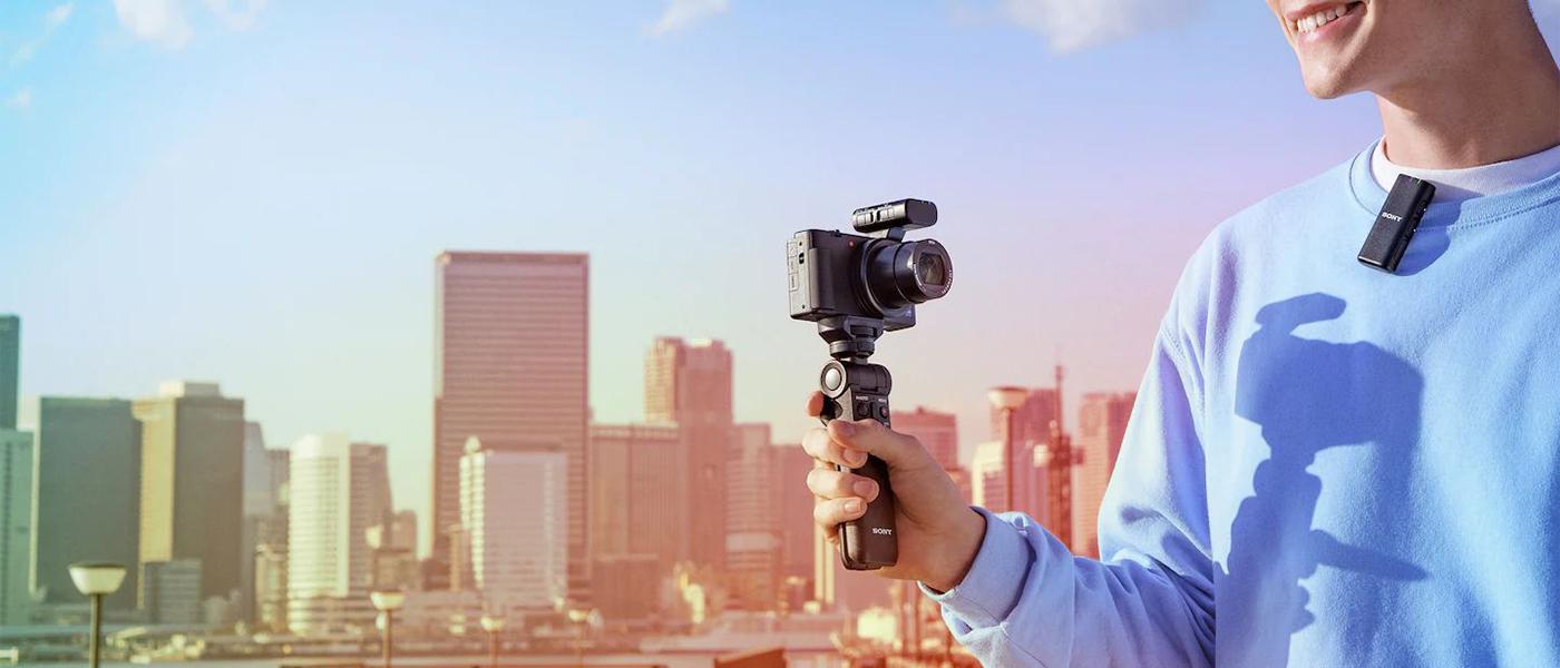 錄製 Vlog 的理想無線麥克風