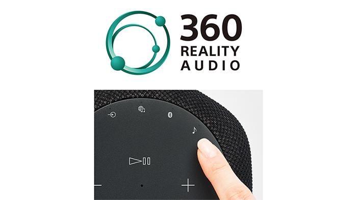 360 Reality Audio 1或 Immersive Audio Enhancement